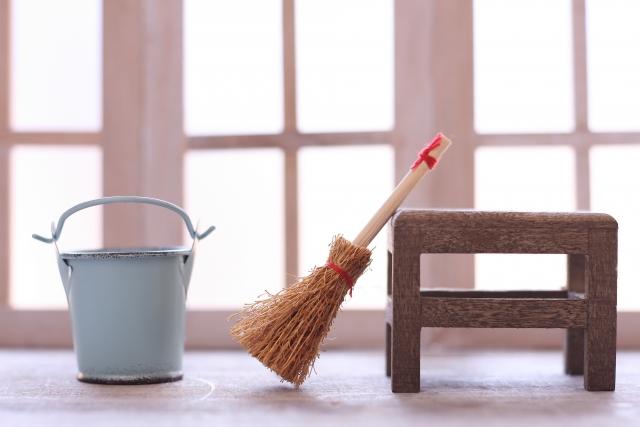 掃除で悪い気をリセット